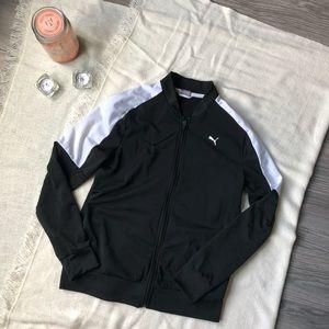 Puma track jacket.